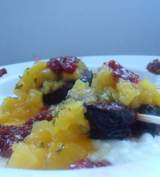 Roasted-Plums-With-Mango-Compote