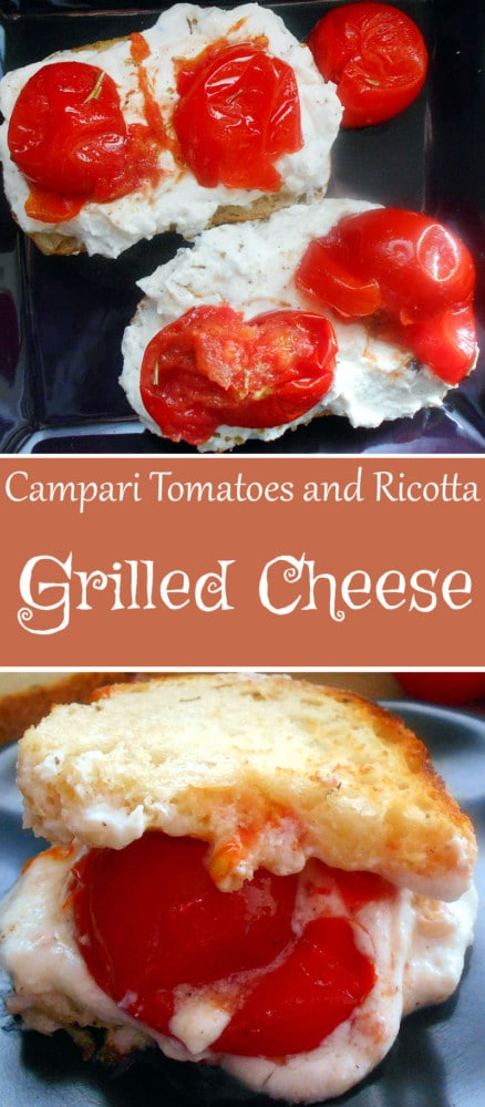 Take Campari tomatoes and roast them in the oven with Italian spices. Top over ricotta and bread. Perfect comfort food for the cold winter days.