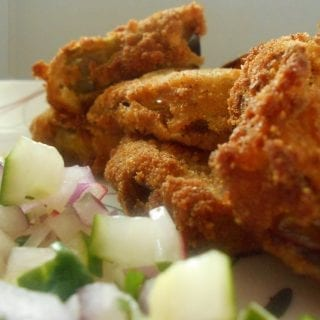 easy fried green tomatillos recipe