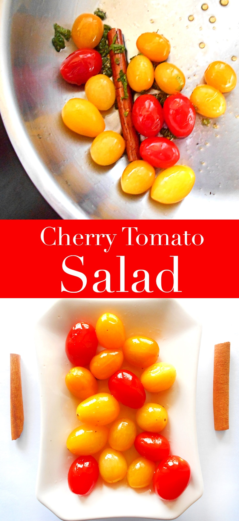 This quick side of cherry tomato and grape tomato side is a quick side dish that works with any recipe. Made in 5 minutes and very delicious