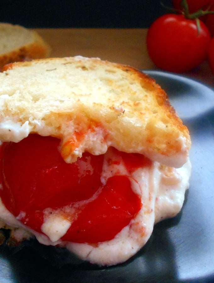 Grilled Cheese Sandwich with Ricotta