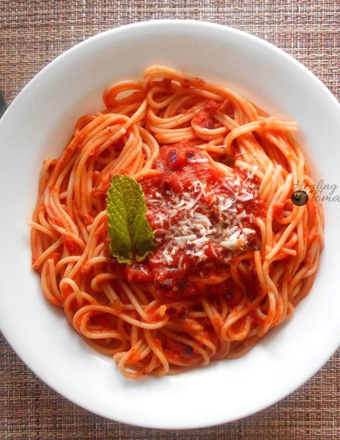 Marinara Sauce (Vegetarian)