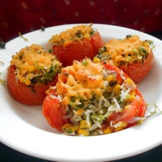 easy Stuffed Tomatoes recipe