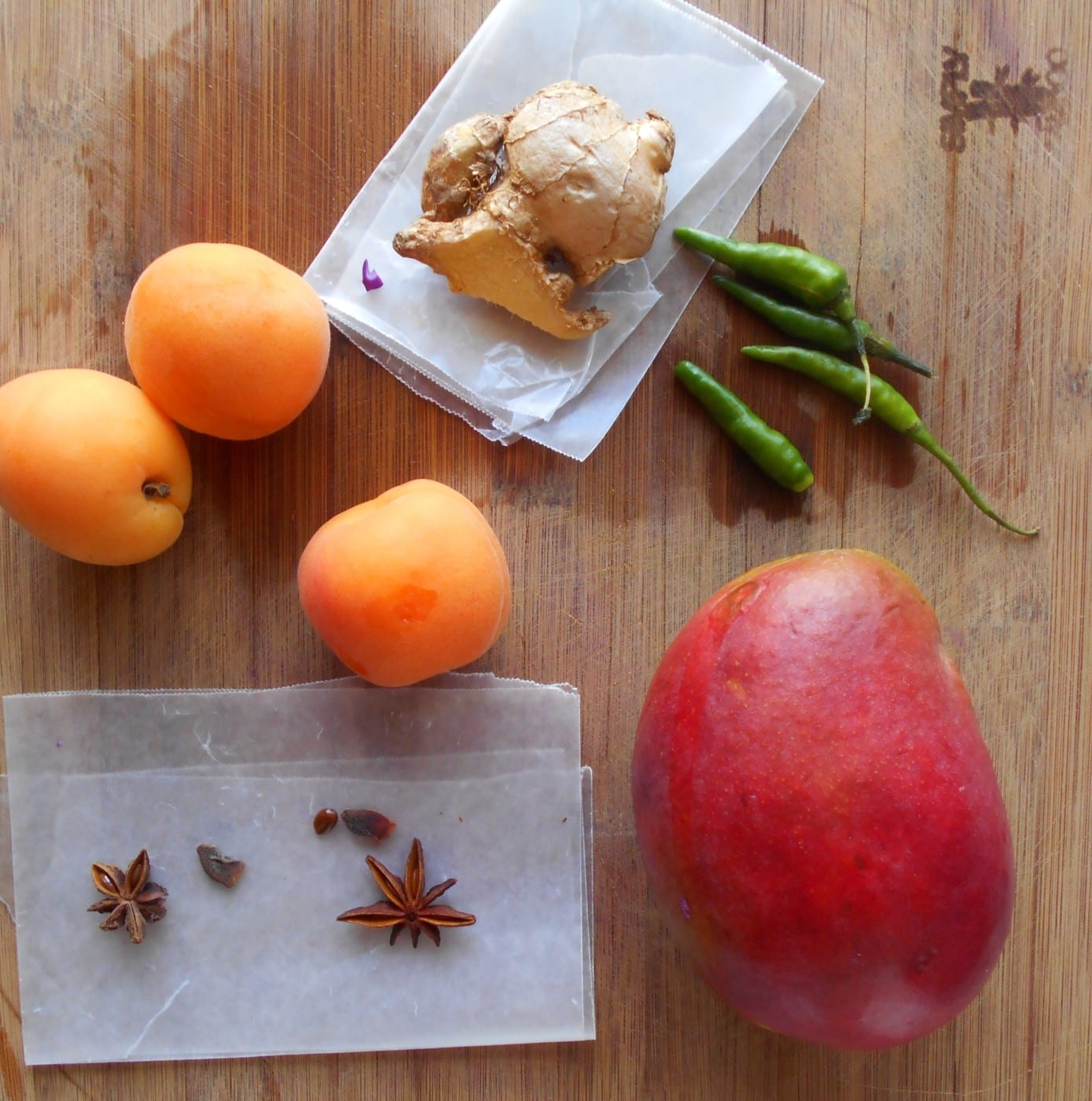 Apricot Dipping Sauce Ingredients