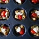 how to make easy Caprese Salad bites