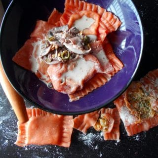 easy Tomato Ravioli recipe