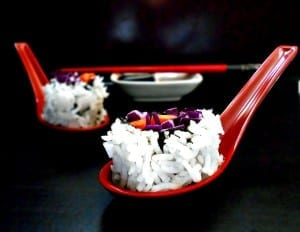 Vegetarian Sushi made with fresh veggies. Quick and simple to make. Perfect weeknight meal Vegan Sushi