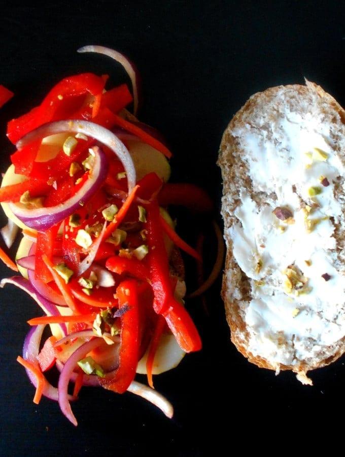 Cucumber Sandwich – Asian-Style