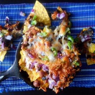 how to make easy Vegetarian Nachos