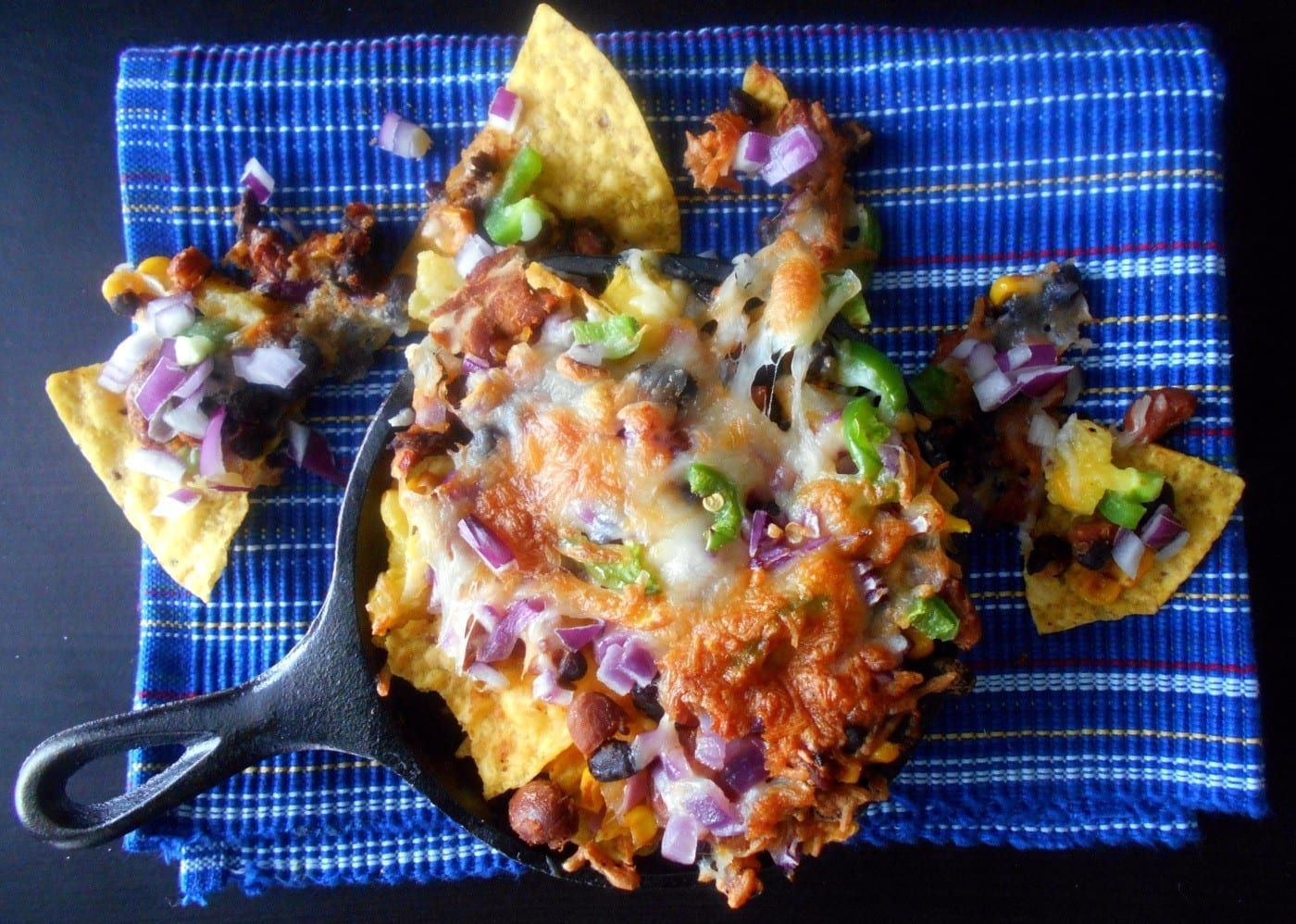 Vegetarian nachos recipe healing tomato recipes vegetarian nachos oooey gooey cheesy goodness made with beans cheese and forumfinder Images