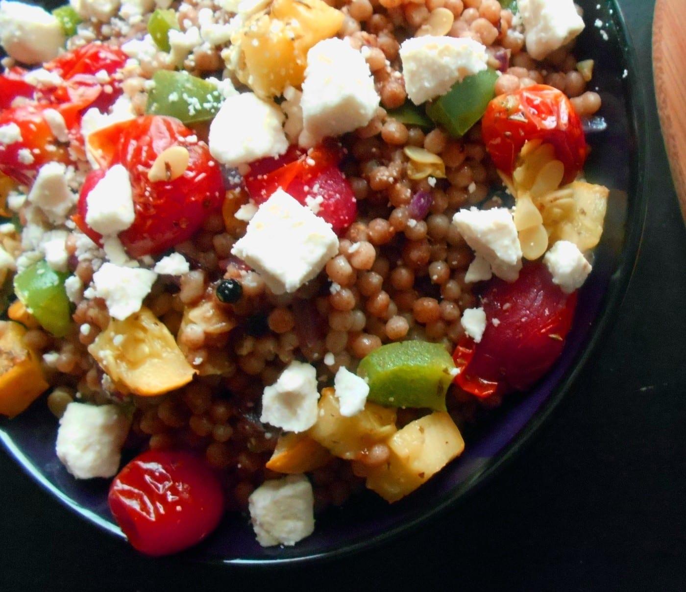 Mediterranean Couscous Salad Easy Vegetarian Meals