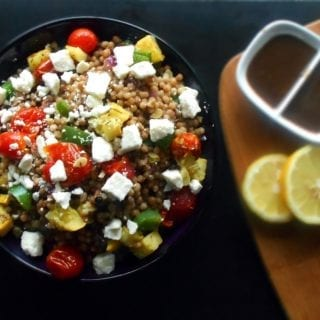 easy Mediterranean Couscous Salad