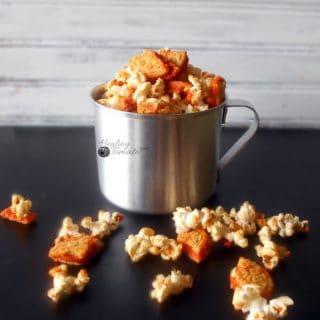 fun Pumpkin Spice Oreos Popcorn recipe