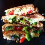 vegan Grilled Cheese with a twist