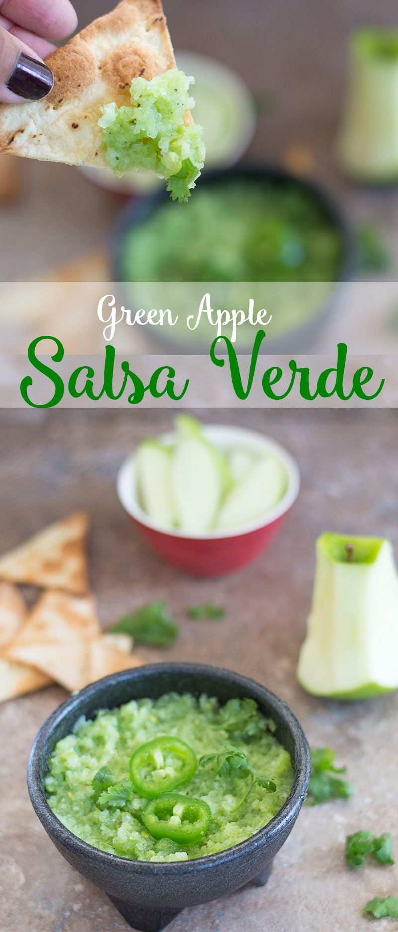 Salsa Recipes that take only 10 minutes to make. Homemade salsas like this Apple Salsa is the perfect accompaniment to any appetizers or dinner ideas.