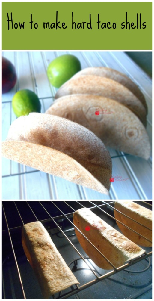 Making hard taco shells is the easiest thing to make. I like making the grande style of taco shells because they hold so much food