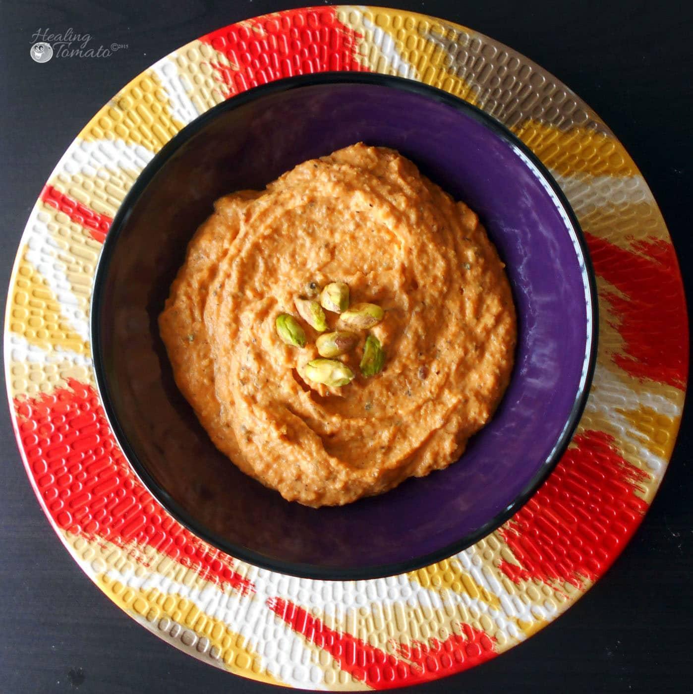 Roasted Butternut Squash Dip - Healing Tomato Recipes