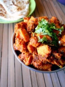 Sweet Potato Curry - A delicious, healthy recipe for curry. This Indian recipe is perfect dinner recipe for vegetarians, vegans and meat lovers