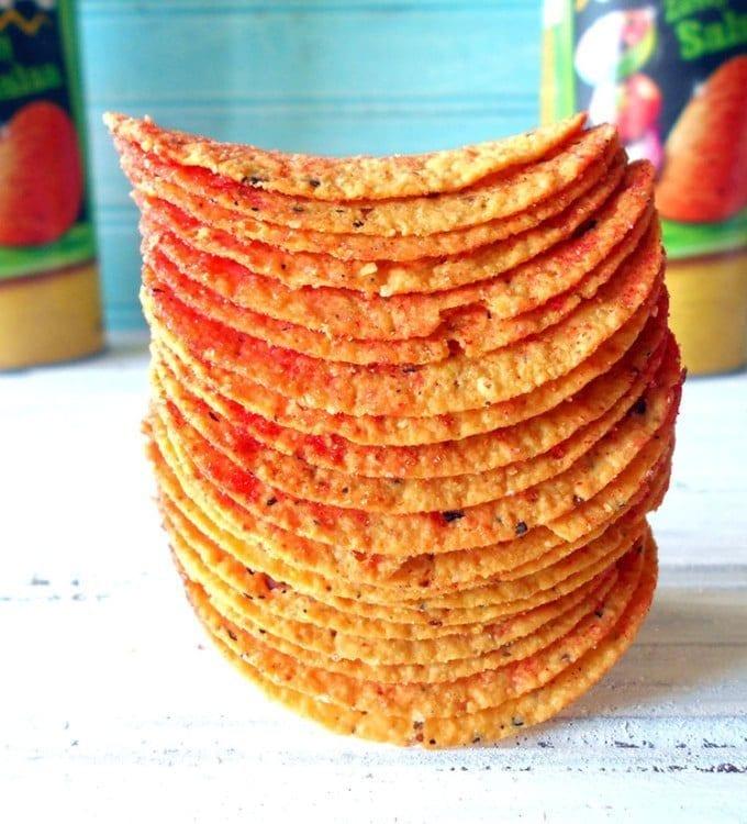 Pringles Tortillas Zesty Salsa #Ad #PringlesAirDip #SITSGirls https://bit.ly/1vFuElA