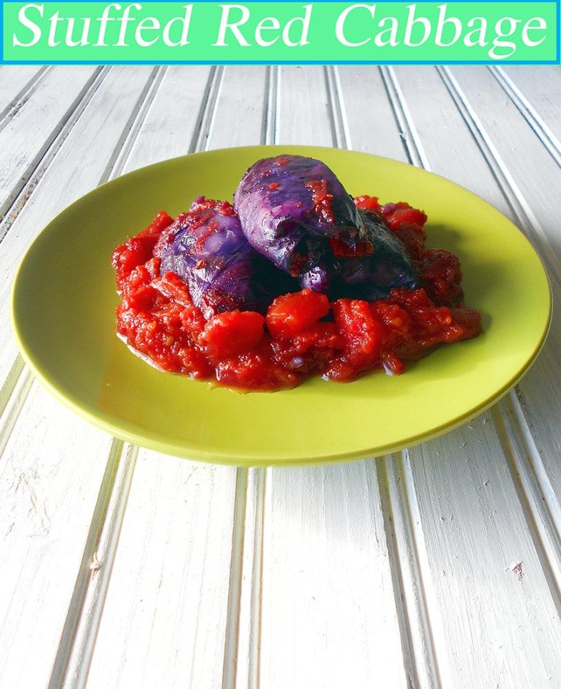 Stuffed Cabbage (Vegan)