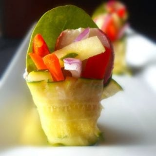 quick Zucchini Rolls