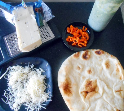Flatbread Recipe For Meatless Monday - Made with simple ingredients, yet, very delicious