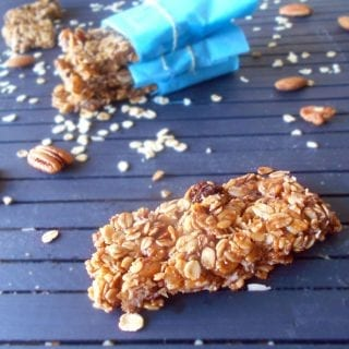 easy homemade Granola vegan bars
