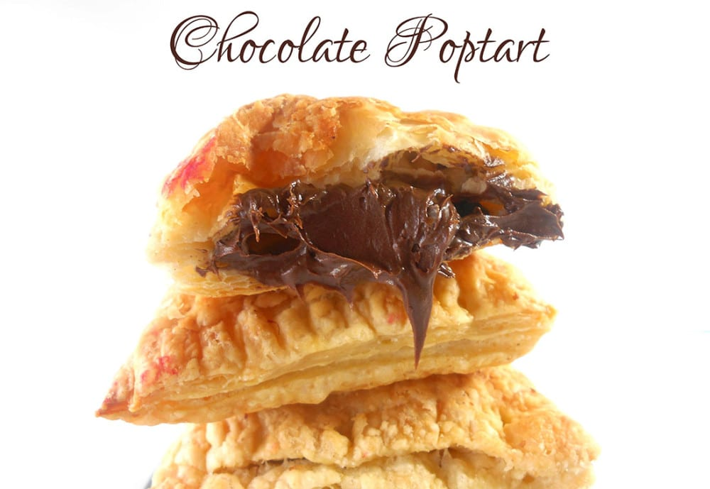 Chodolate Homemade Pop Tart Flavor. Quick Recipe for making pop tarts at home