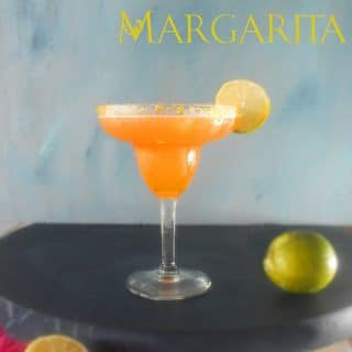easy cantaloupe margarita
