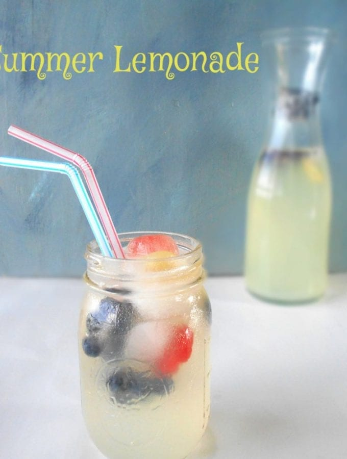 Summer Lemonade is made from fresh fruits. I used fresh limes and fresh lemons. This lime lemonade is very quick recipe to beat the summer heat