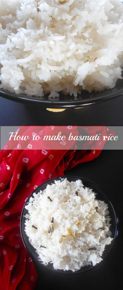 How to make restaurant style Basmati rice? This is a step-by-step recipe on how to make basmati rice