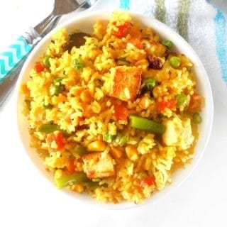 easy vegetarian fried rice recipe