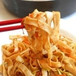 This is a very easy lo mein recipe. Perfect vegan dinner for weeknights. Quick recipe that takes less than 30 minutes to make