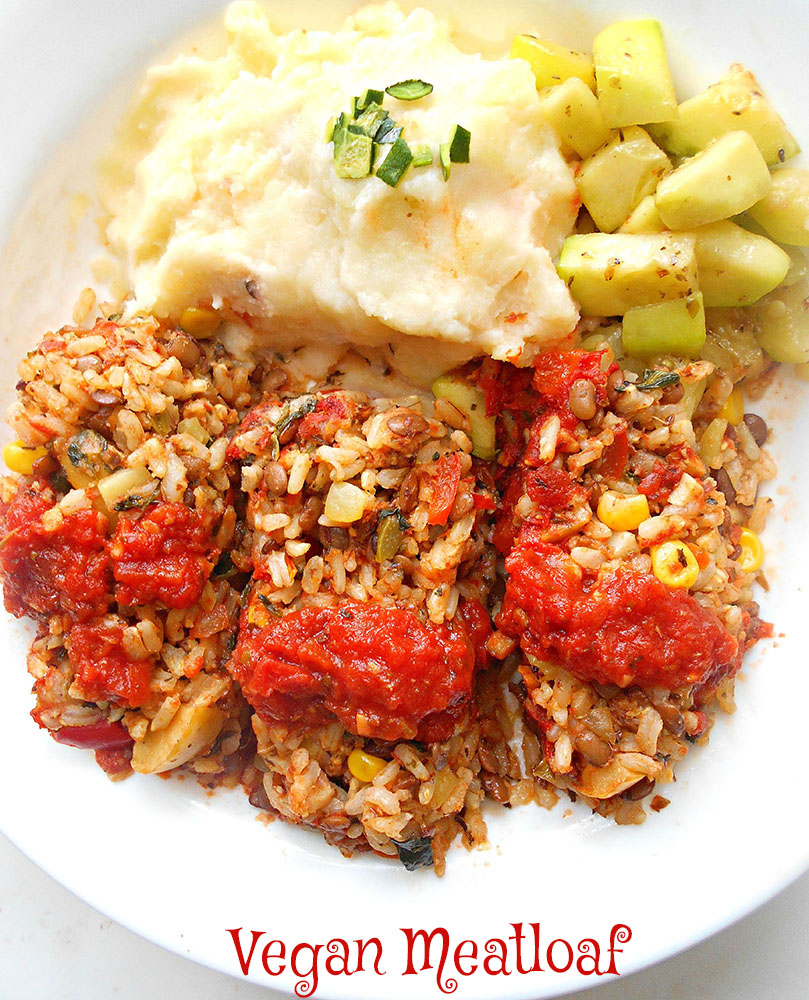 Vegan Meatloaf Recipe With Rice