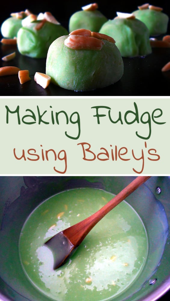Fudge Recipe with Baileys Irish Cream - A fun way to make fudge