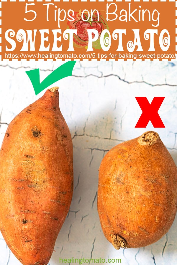 5 tips on how to bake a sweet potato #healingtomato #sweetpotato