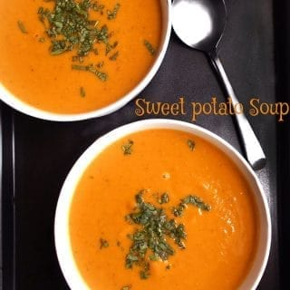 easy sweet potato soup