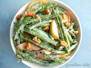 How to cook green beans? Roasting them is a great way to bring out its flavors. This vegetarian green bean salad recipe is a side dish for any occasion. Use it for Thanksgiving or any feast. It is a quick sHow to cook green beans? Roasting them is a great way to bring out its flavors. This vegetarian green bean salad recipe is a side dish for any occasion. Use it for Thanksgiving or any feast. It is a quick snack too #holidaywithchobani #adnack too