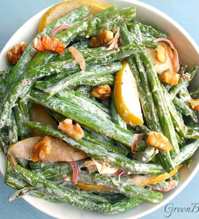 Green Bean Salad (Tangy)