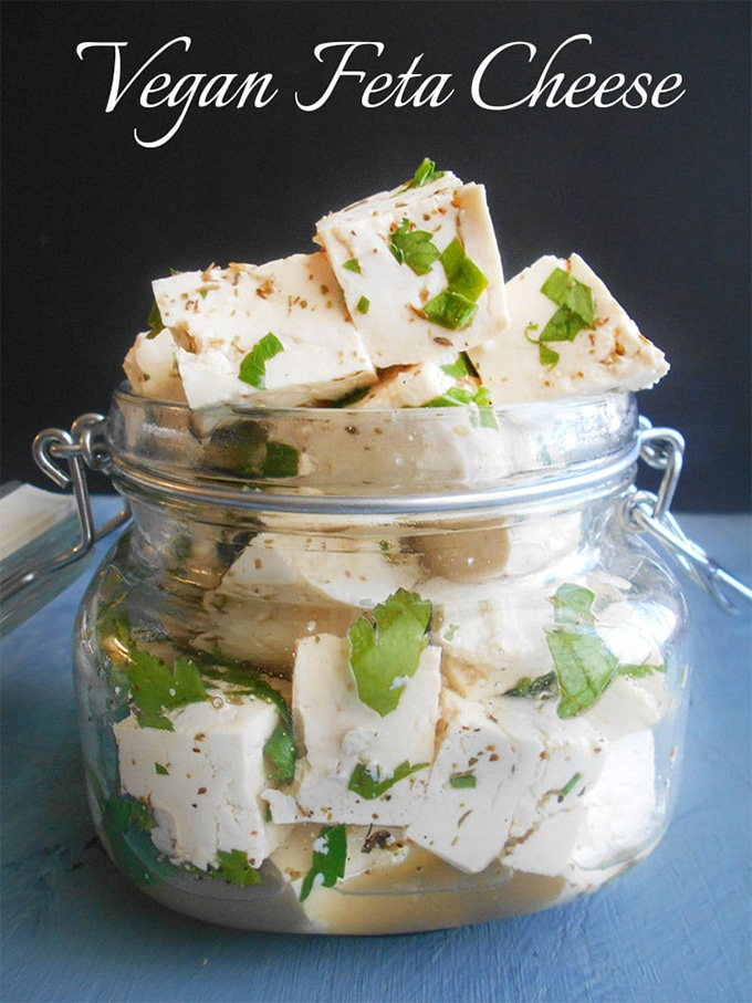 Vegan Feta Cheese - Homemade | Healing