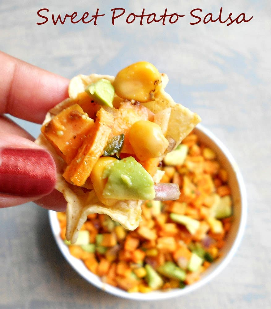 Sweet Potato Salsa With Avocado - Healing Tomato Recipes