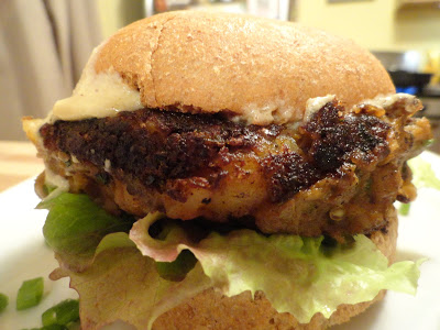 moussaka burger with bun - 7 Vegan Greek Recipes