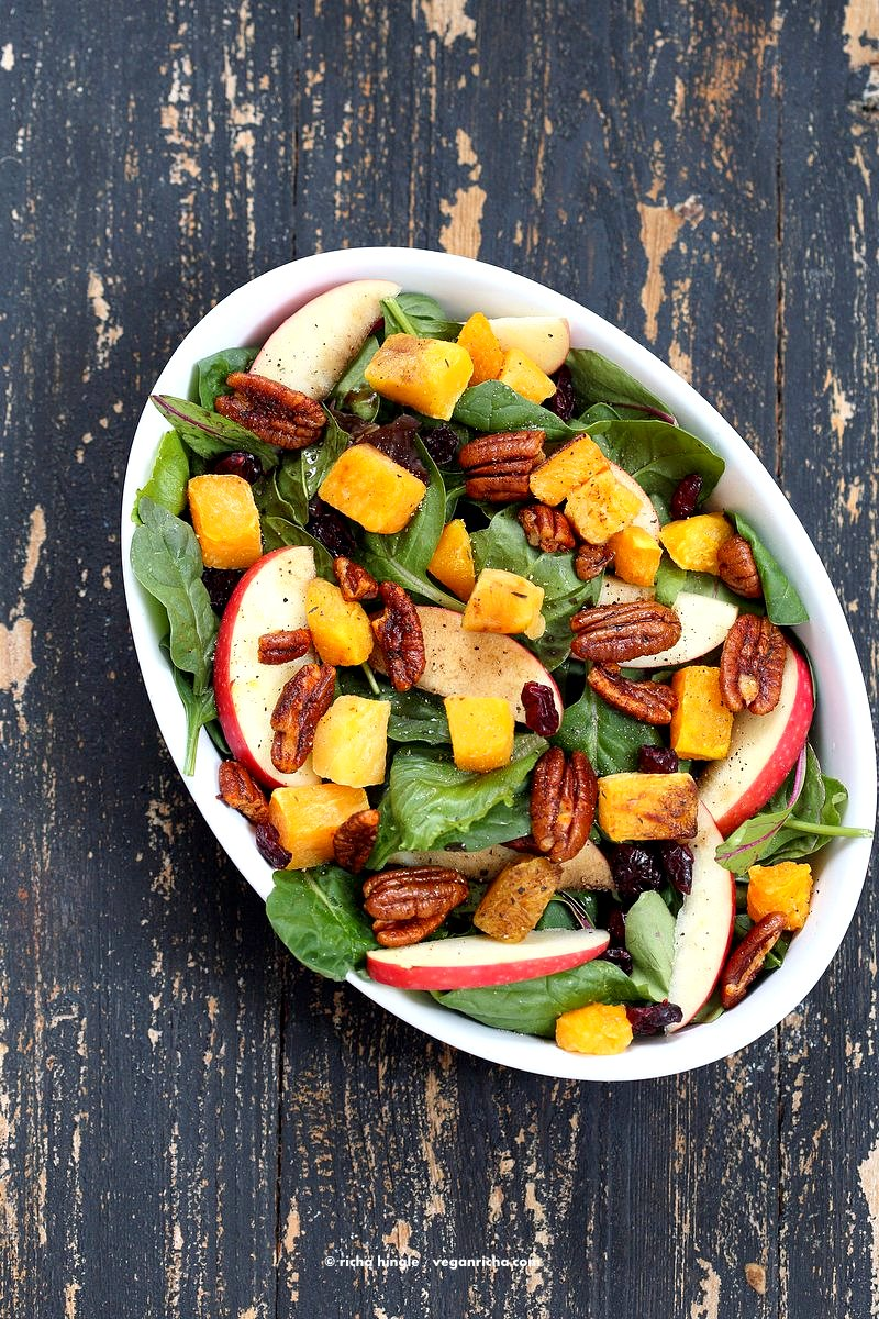 vegan richa colorful fresh root vegetable salad - A dried cranberry recipe doesn't have to be for a Thanksgiving feast. Dried Cranberries are versatile & can be put into any recipe. 10 Lunch and Dinner meal