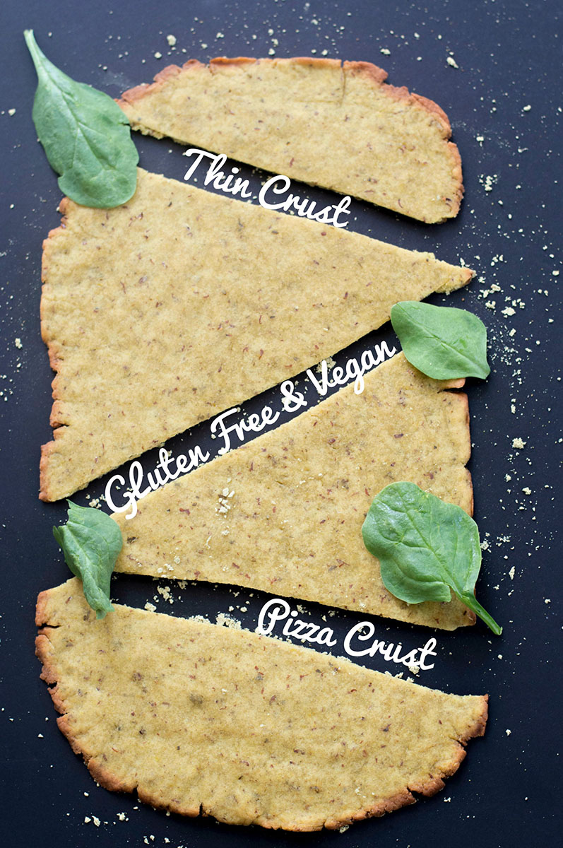 Pizza dough recipe that is both vegan and gluten free. Made with simple ingredients and includes Kashi GOLEAN protein powder. Vegan and Gluten Free pizza #KashiPlantPower #GOTOGETHER