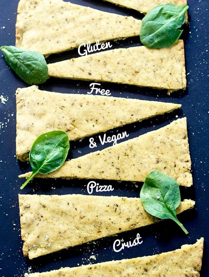 Pizza dough recipe that is both vegan and gluten free. Made with simple ingredients and includes Kashi GOLEAN protein powder. Vegan and Gluten Free pizza