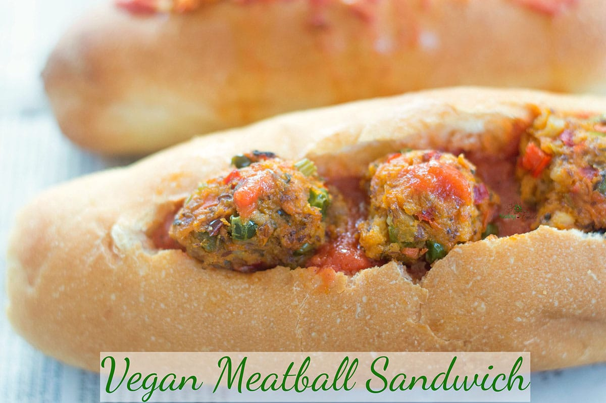Easy Meatball Sandwich Recipe Healing Tomato Recipes