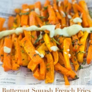 These butternut squash French fries are very healthy and delicious. A perfect healthy snack recipe for kids and adults. Packed with Vitamin A and Vitamin C