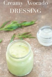 The simplest avocado recipe every made. This vegan creamy avocado dressing takes 10 minutes to make and uses only 5 ingredients. Use it on salads or fries