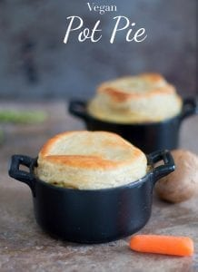Quick and easy vegan pot pie recipe. Made with all fresh vegetables and uses almond milk instead of butter for basting. Make for perfect vegan comfort food sponsored #inspiredbypuff