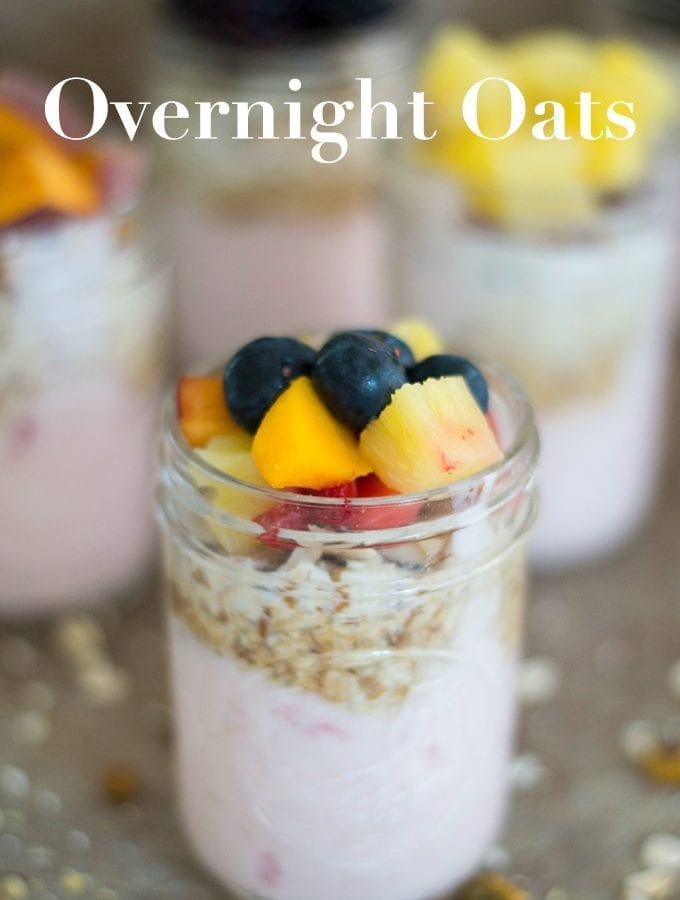 Overnight Oats – 7 Day Breakfast Meal Prep